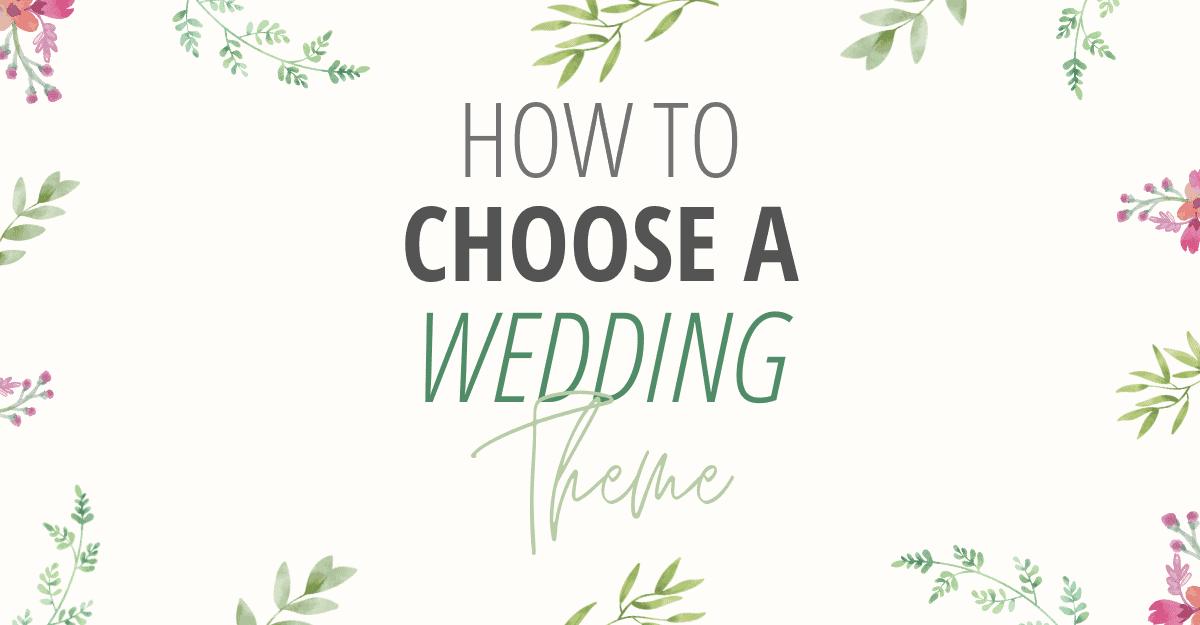 How to choose a wedding theme - All Free Wedding Invitations