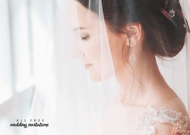 Finding the Perfect Wedding Veil - All Free Wedding Invitations
